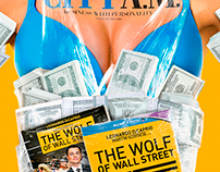The Wolf of Wall Street - CITY A.M. cover wrap