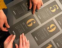 MUFU calendar design