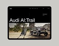 Audi AI:Trail Website Concept