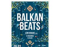 BALKAN BEATS / POSTER 2016