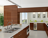 ARCHITECTURAL VISUALISATION / PART 01 - KITCHEN