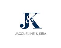 J & K – Logo Design / Hand Lettering