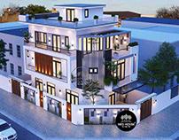 Thiết kế và thi công trọn gói biệt thự 3 tầng 7x14m