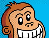 Illustrations of monkeys