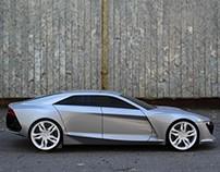 Audi R9 Diploma Project