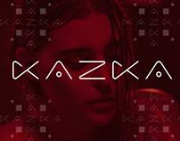 Logo design for KAZKA - Ukrainian Indie Pop Band