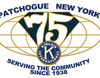 Kiwanis 75th Anniversary Logo