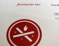 Firestarter Identity + Form Design