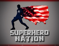 SuperHero Nation Logo Concept