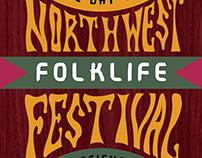 Northwest Folklife Festival Poster
