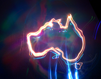"Light Paintings for ""Flash Down Under"""