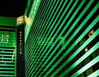 Las Vegas Day and Night homage to Kodachrome