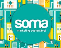 Ilustração Soma Marketing Sustentável
