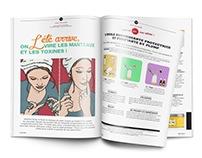 Illustrations pour Plump le Mag
