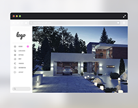 Housing website - template