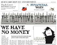 Educational Gaming with The Creepytown Chronicle