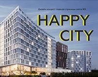 Концепт ЖК Happy City в рамках DL Boost от Vintage
