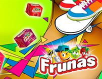 Play, Frunas y Pin Pop, Diseño de Portadas