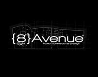 Corporate Branding & Print Identity - Eight Avenue