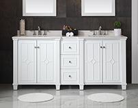 Product development & design: Bathroom vanities