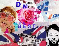 """Collage """"The Best British"""""""