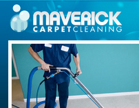 Maverick Cleaning Website