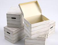 Storage Box (Wood Texture)