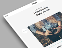 Norge - Responsive Blog WordPress Theme