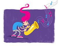 Saxophone Guy