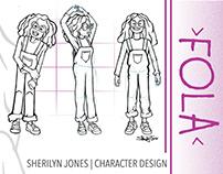 Character Design   Fola