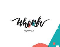 Whoosh eyewear - Identity design project