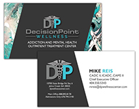 DecisionPoint Wellness Center Business Cards
