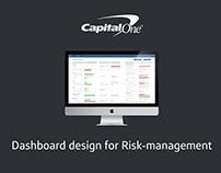 Summer internship | Risk-management Dashboard design