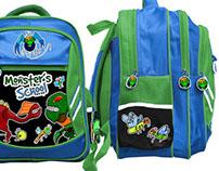 Projekt plecaka szkolnego dla chłopców
