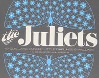 Juliets Silkscreen Gig Poster