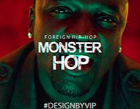 Avatar for the group in VK - Monster Hop