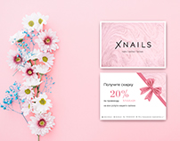 Corporate identity for beauty salon