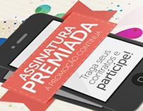 Assinatura Premiada project campaign