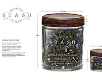 Packaging Redesign: Stash Tea, loose leaf