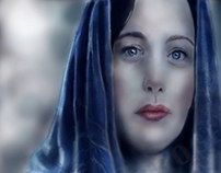 liv tyler arwen drawing and painting tutorial