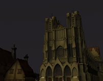 Reims Cathedral (Texturing)