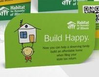 Habitat for Humanity: Build Happy.