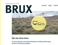 Brux - personal portfolio