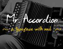 Mr. Accordion Typeface