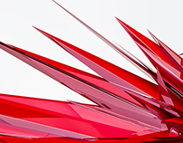 RED -An abstract shape experimental-