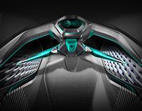 Peugeot Electric Race Interior Concept