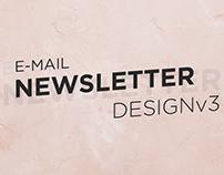 E-Mail Newsletter Design v3