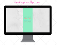 Desktop & Mobile Wallpaper Design