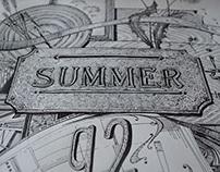 "Poster ""Summer"""