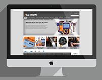 Actron Website redesign